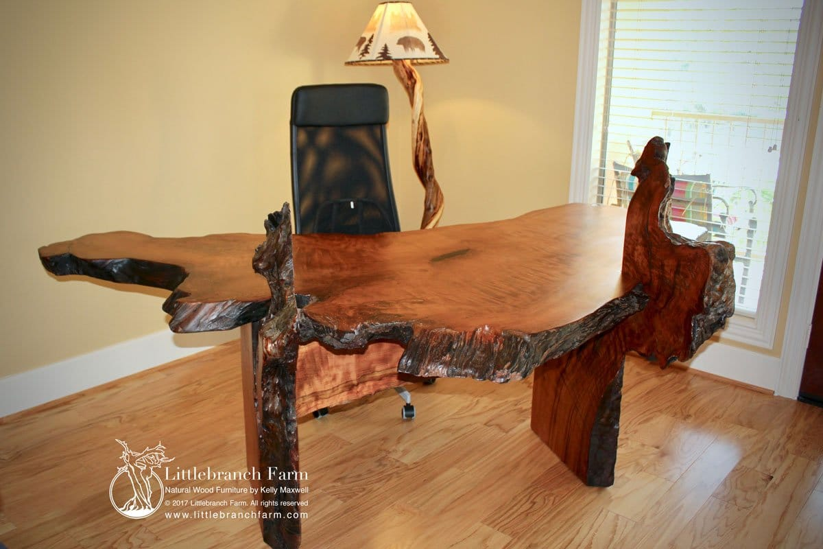 Rustic Desk Executive Office Desk Littlebranch Farm