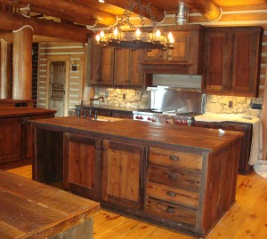 rustic furniture recovered barnwood cabinets