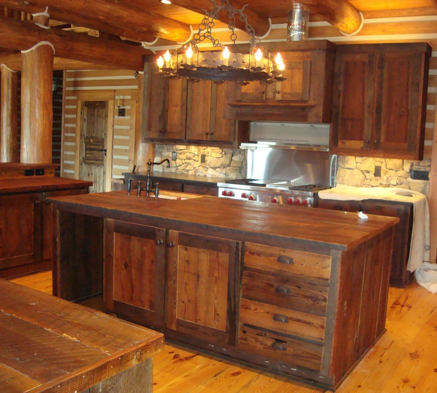 littlebranch farm handcrafted natural wood furniture by