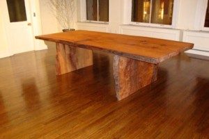 redwood slab rustic dining tables
