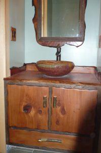 rustic vanities