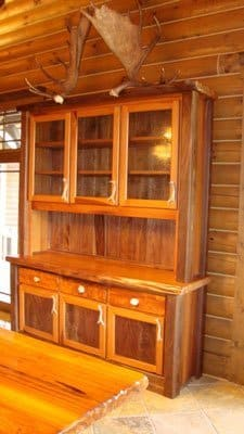 redwood hutch