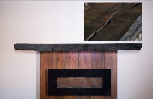 Redwood Fireplace Mantel | Littlebranch farm