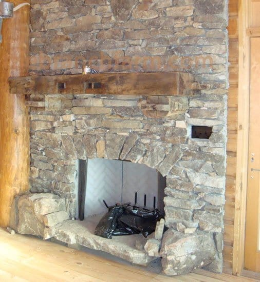 Rustic fireplace mantels littlebranch farm for Rustic mantels for stone fireplaces