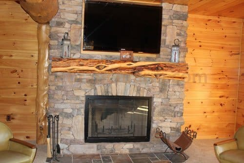 Rustic Fireplace Mantels Fireplace Mantel Littlebranch