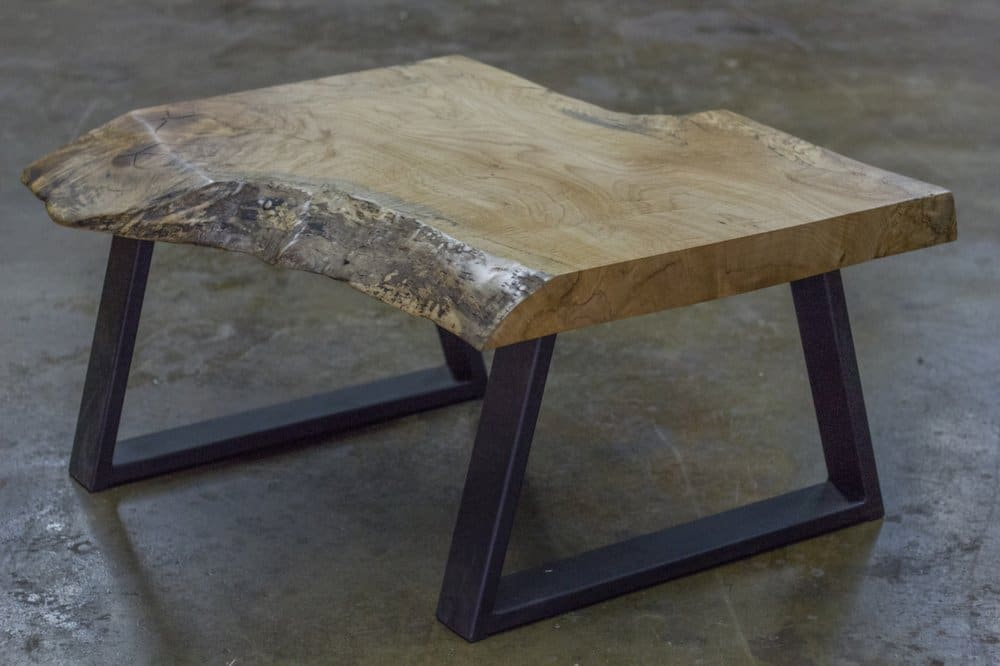 Natural wood coffee tables rustic coffee table wood slab for Rustic coffee table