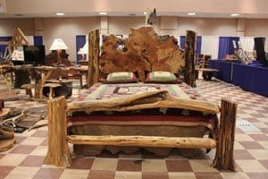 Rustic Furniture Meets Burl Wood Furniture Birthing This Unique Rustic  Beds. The Stability Of Red Cedar Logs And The Warmth Of Redwood Burl Meets  Natural ...