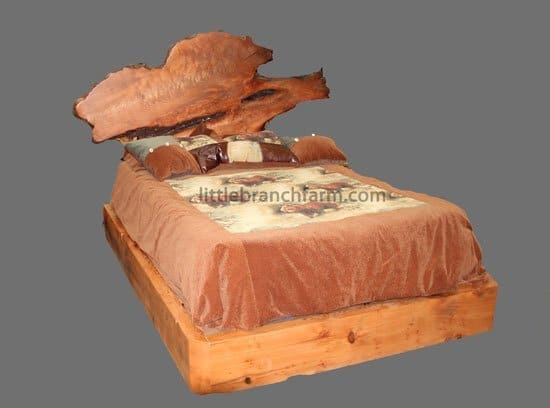 contemporary rustic beds