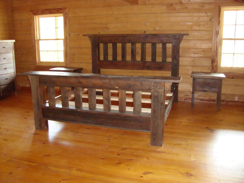 Reclaimed barn wood furniture real wood furniture Furniture made from barn wood