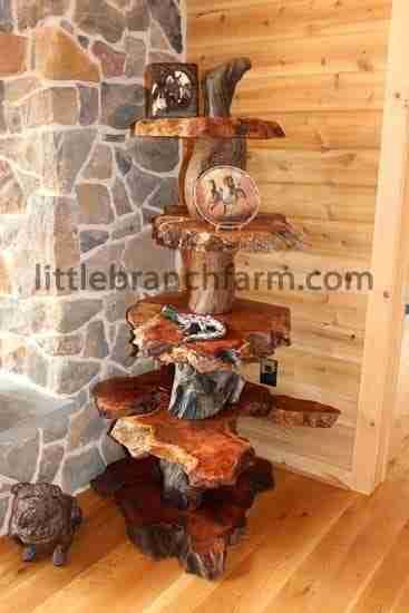 Burl Furniture Live Edge Wood Custom Furniture