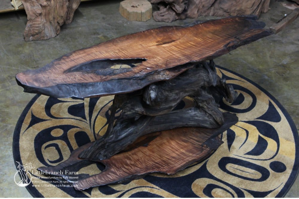 Superieur Live Edge Table This Organic Driftwood ...