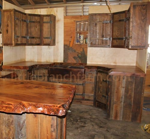 Redwood Kitchen Cabinets