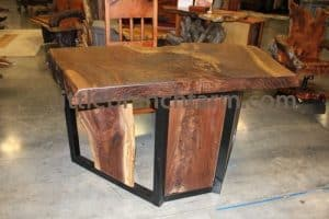 Contemporary rustic desk