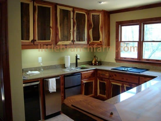 Kitchens With Different Style Cabinets