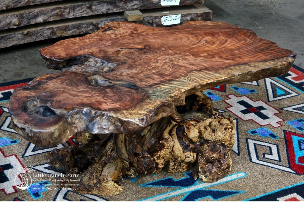 Live edge furniture.