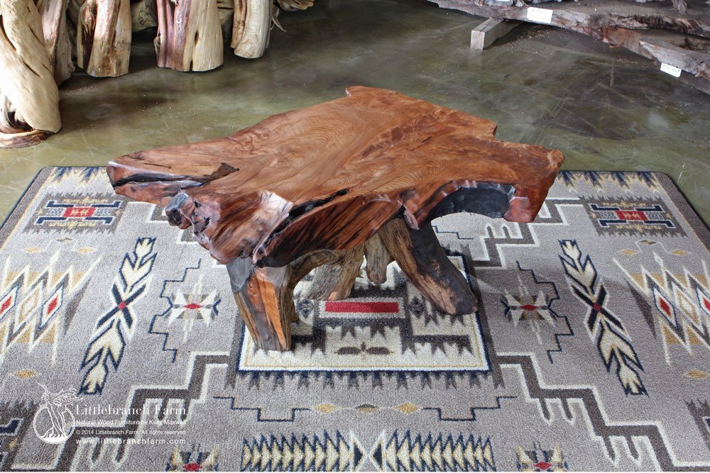 ... burl wood coffee table - Natural Wood Coffee Tables - Rustic Coffee Table, Wood Slab