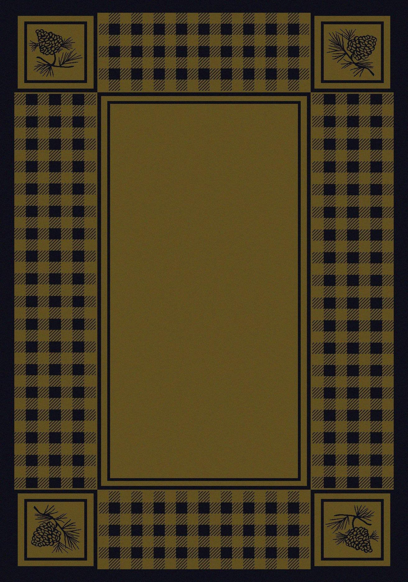 Log home rugs