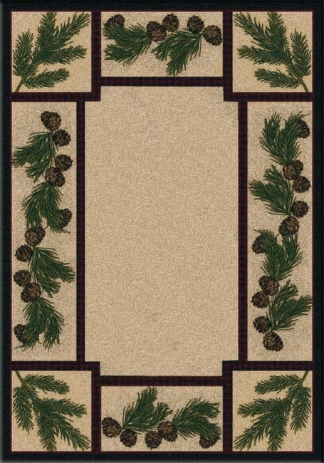 Cabin area rug