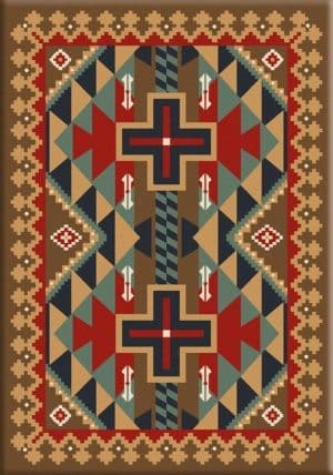 Tribesman Kilim | Southwestern rugs by American Dakota