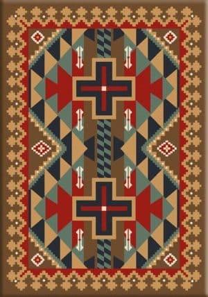 Tribesman Kilim | Southwestern rugs by American Dakota