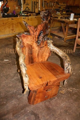 Rustic Chairs. Rustic Chairs   live edge burl wood slabs
