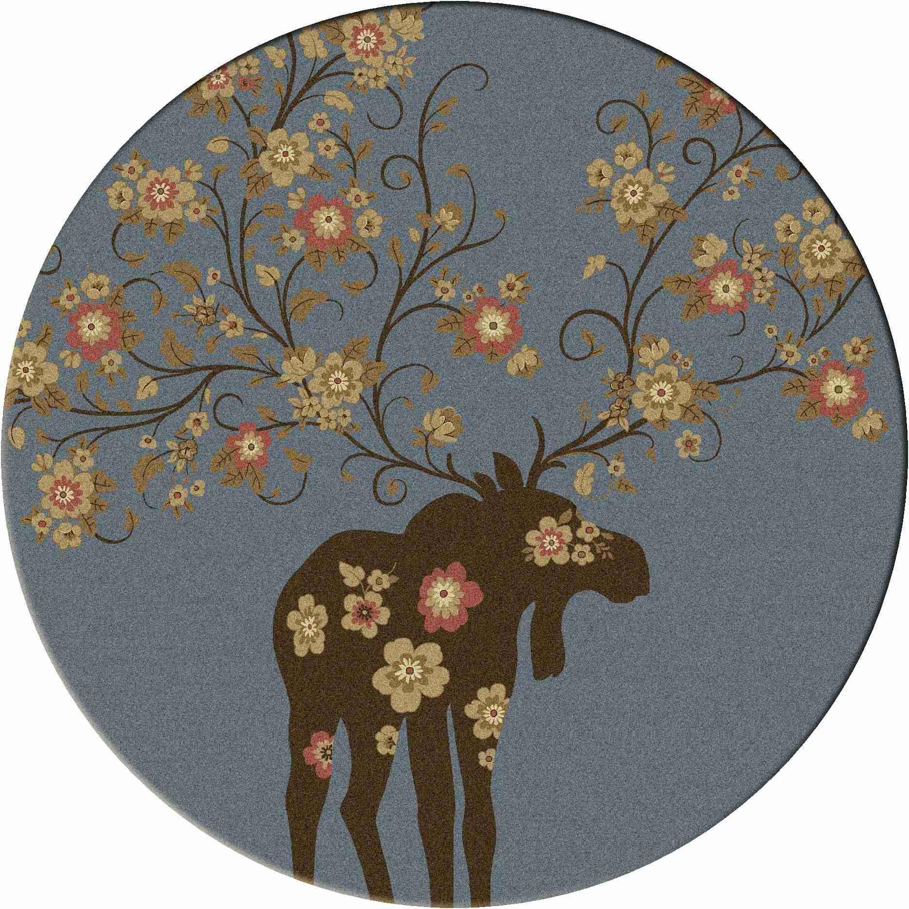 Moose Blossom Rug