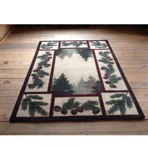 cabin area rugs