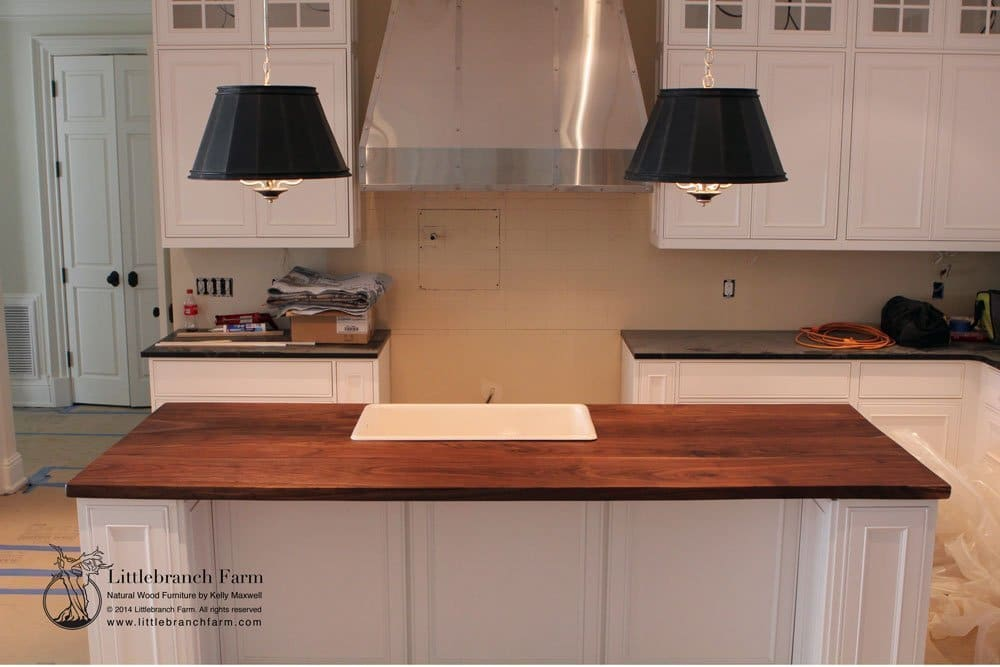 Natural Wood Countertops Live Edge Wood Slabs