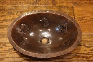 Horse Head Vanity Copper Sink | Littlebranch Farm