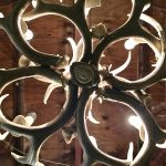 Antler chandelier detail