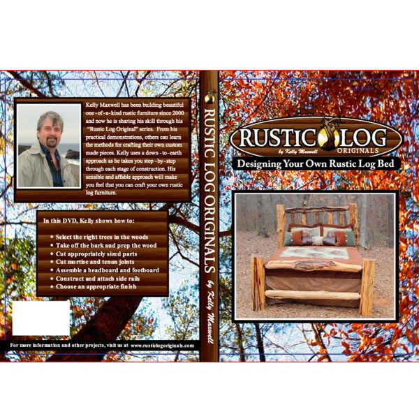 How to build a log bed video
