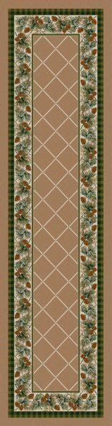 Rustic area rug