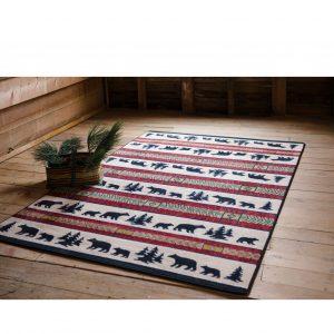 Bear area rug