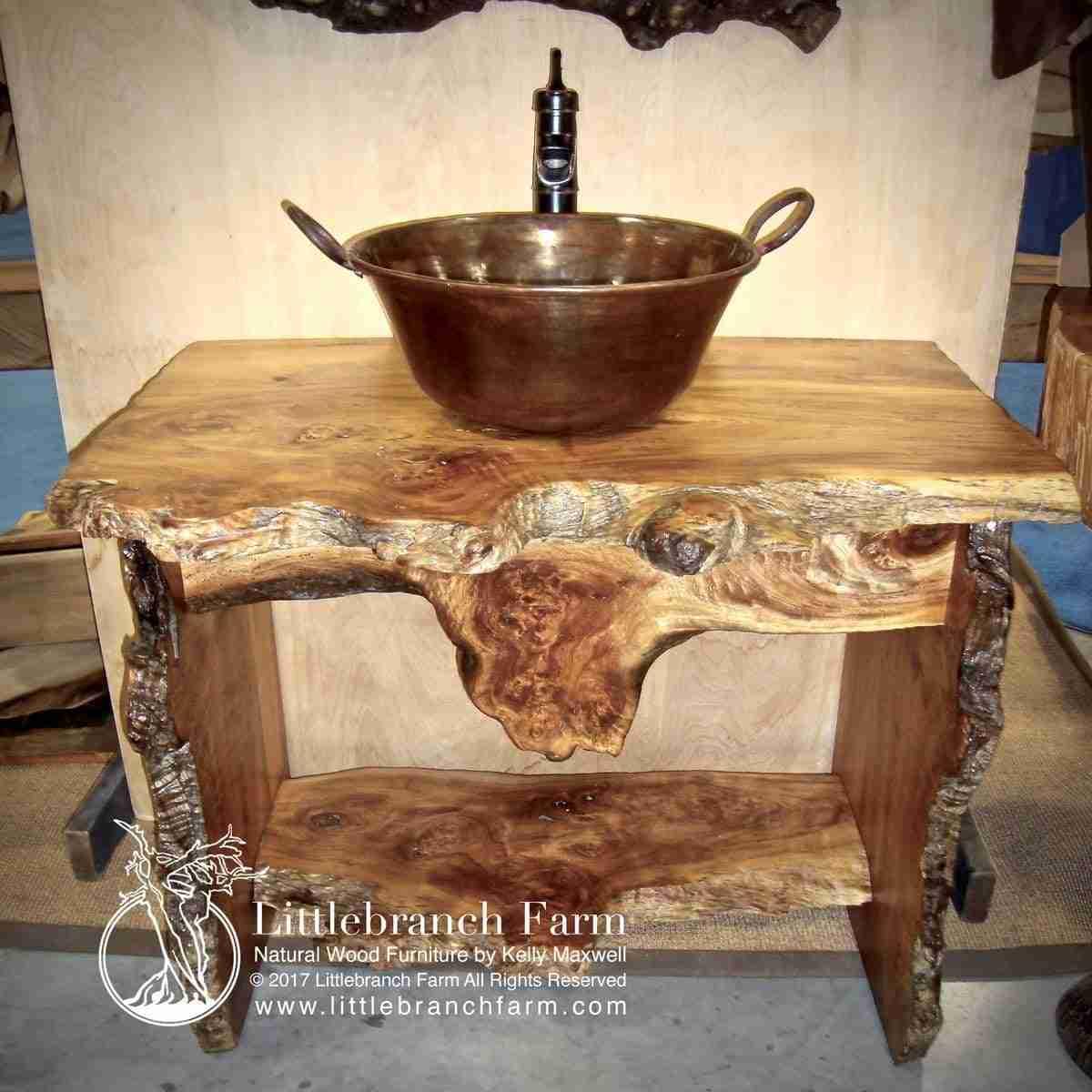 rustic vanities rustic vanity bathroom vanity littlebranch farm. Black Bedroom Furniture Sets. Home Design Ideas