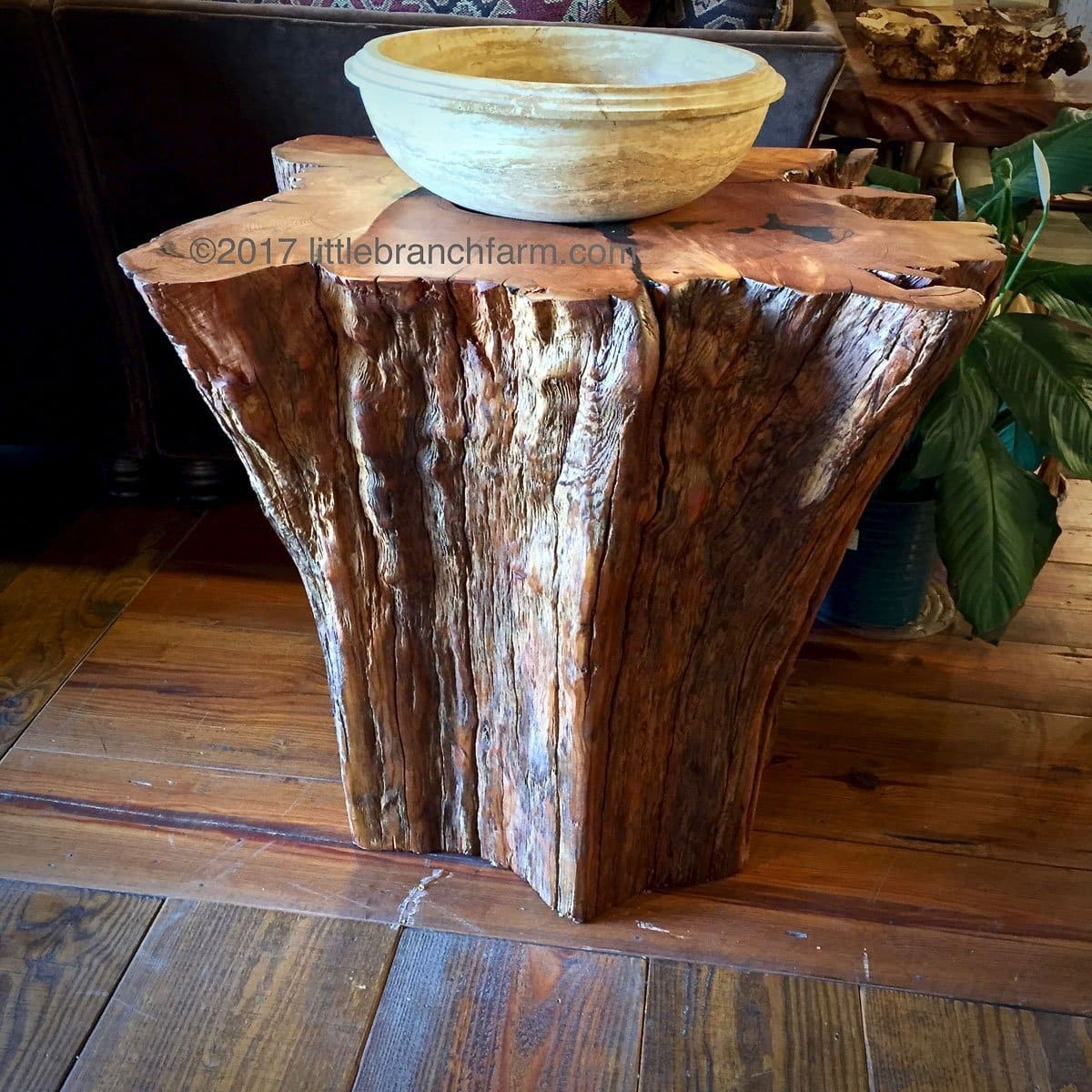 western cedar bathroom vanity and also a stone vessel sink