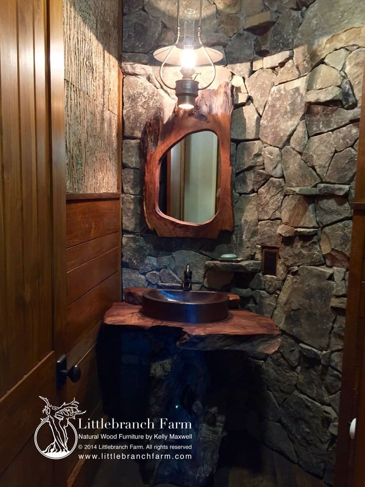 Original rustic vanities