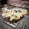 Buckeye burl coffee table
