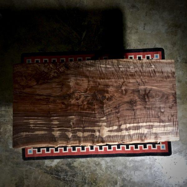 live edge wood slab