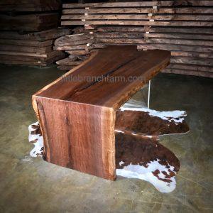 Natural wood furniture design.