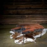 floating slab table