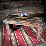 barn wood vanity