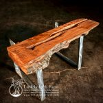 Reclaimed fireplace mantel