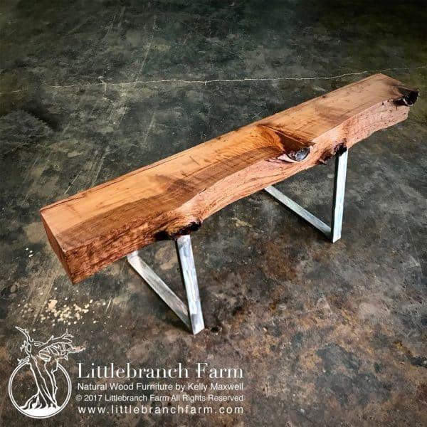 wood slab fireplace mantel
