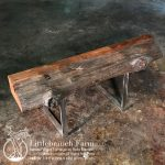 Live edge wood mantels