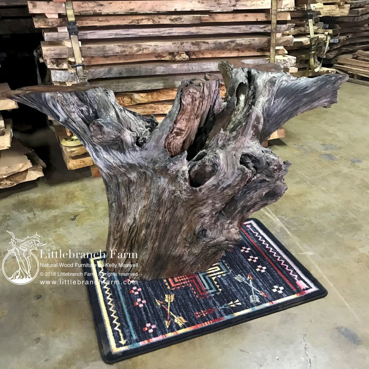 Driftwood Rustic table