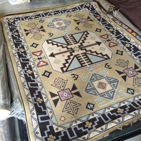 Copper canyon rug in tan